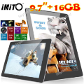 "Classificados Grátis - (IMITO) iM970 9.7 ""IPS tela Android 4.1 16GB Tablet PC w / C"